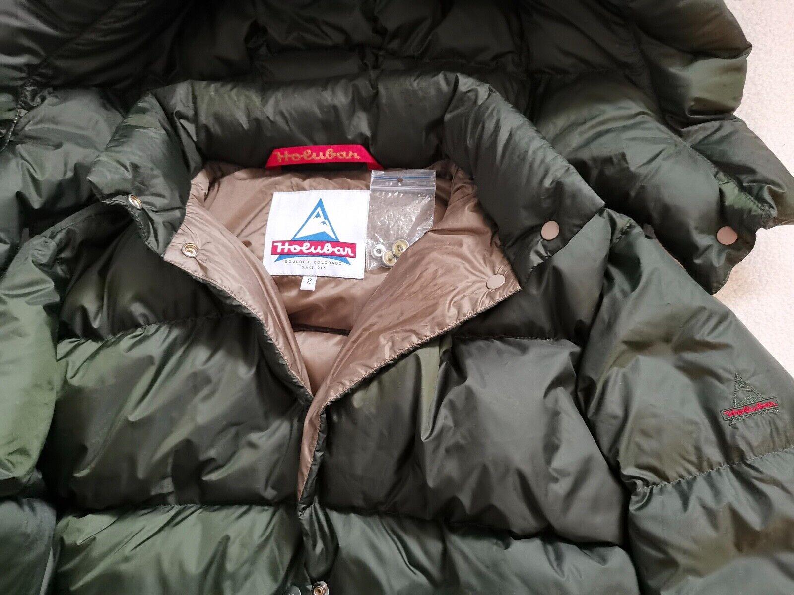 HOLUBAR - Women's Mustang Jacket Long, DAUNENMANTEL, GR. S, US 2,  NEU
