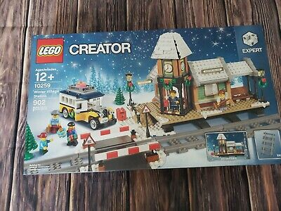 Retired NEW Lego Christmas Winter Train Station 10259 Holiday
