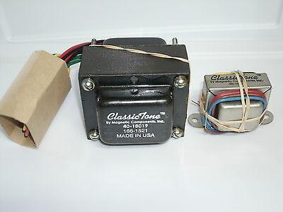 Classictone Tweed Champ Transformer Set  Power And Output Transformer  Usa Made