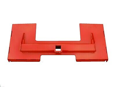 Kubota Skid Steer Tractor Attachment Trailer Hitch Receiver Mount Plate