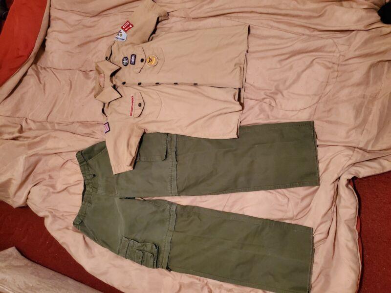 BOY SCOUTS Of America UNIFORM Shirt & Pants