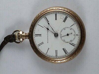 1887  Elgin 18S Pocket watch