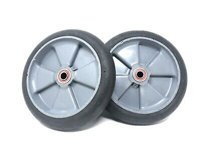 Pair Set Of 2 Magline 101030 Balloon Cushion Wheel 10 Magliner Bp Hand Truck