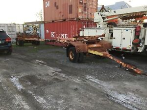 Pole, Pipe Trailer For Sale.