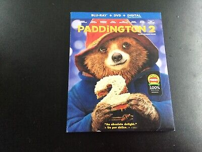 PADDINGTON 2  (BLU-RAY + DVD +  DIGITAL  )BRAND NEW SEALED , used for sale  Lavaltrie