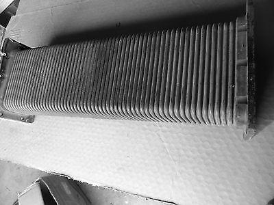 Microwave Waveguide Assembly 24 Physics Dept. Equipment Corrigatd Steampunk Art