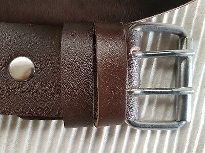 New Scaffolding Heavy Duty 2 Brown Leather Professional Quality Tools Belt