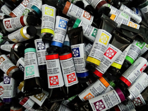 Daniel Smith Watercolors, 15 ml, 250 colors, 10% off $50+, flat rate shipping $4