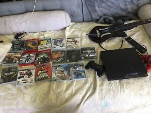 Ps3 + 2 controllers + 16 games