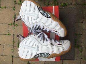 White Gucci Foamposites size 10