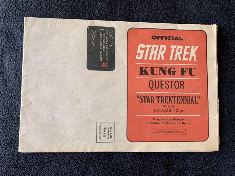 LINCOLN ENTERPRISES CATALOG #6 (1977) Star Trektennial, Spectre, Questor