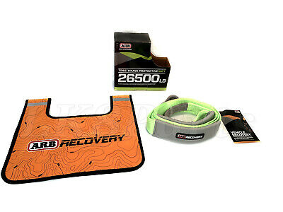 ARB 4x4 Winch Damper and Tree saver tow strap kit