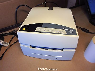 Interec PC4 COVER OPEN ERROR Thermal Barcode Label Printer USB PARALLEL EXCL PSU