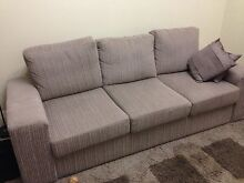 Three seat couch and bed Newcastle East Newcastle Area Preview
