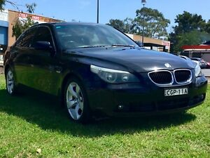 2005 BMW 530i E60 luxury 3.0 Lt  Auto Sedan Fully Optioned Leumeah Campbelltown Area Preview