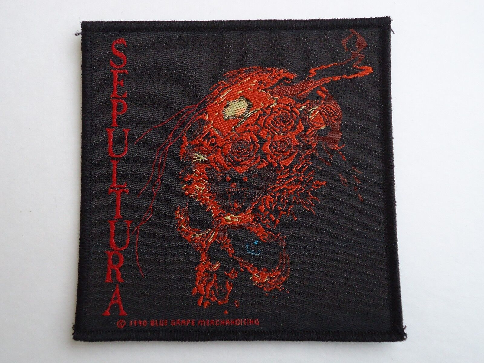 SEPULTURA BENEATH THE REMAINS WOVEN PATCH