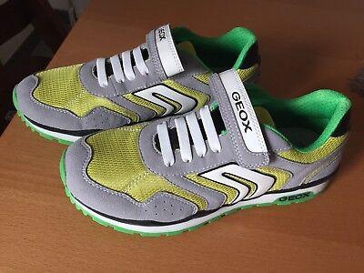 GEOX Kinder Schuhe Sneaker  Jungen J Pavel B Low-Top *NEU*