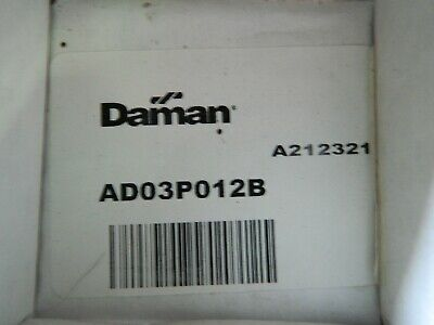 New Daman Ad03p012b Aluminum Manifold Block Single Station