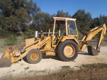 tractor ford 550 diesel, backhoe with front bucket,good tires Baldivis Rockingham Area Preview