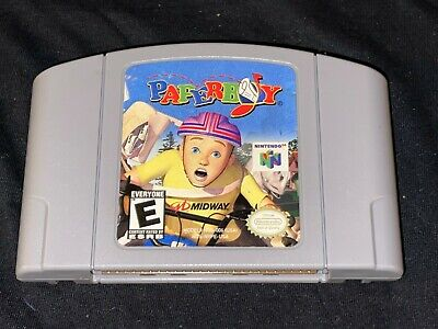 Paperboy (Nintendo 64, 1999) Cleaned / Tested / Authentic - N64