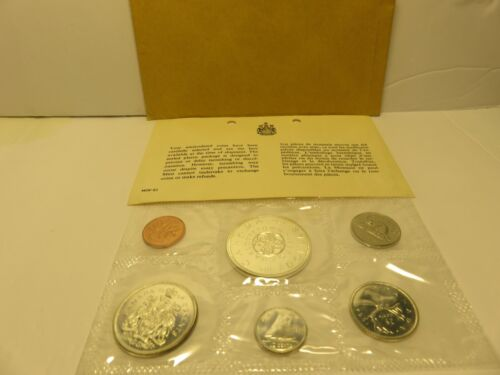 1964 Canada Proof LIke Silver Uncirculated Coin Set Original Packaging - 613