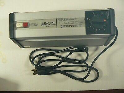 Spectroline Pl256t Ultraviolet Eprom Eraser 254nm 115 Vac 60hz 0.6 Amp