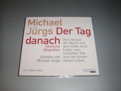 CD Hörbuch - Michael Jürgs - Der Tag danach - Vom Verlust der Macht... - 2 CDs