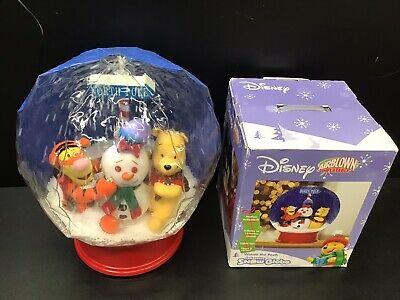 Gemmy Disney Winnie The Pooh North Pole Christmas Air Blown Inflatable