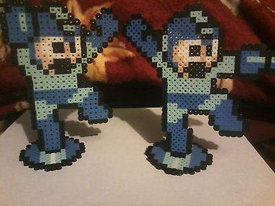 Mega Man Perler Art  New And On Hand  Pixel 8 Bit Rush E Tank Eddie Tango Beat