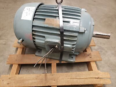 Unmarked 15hp 230460v 1765rpm Frame 286t Electric Motor