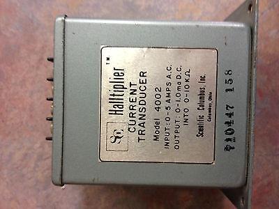 4002 Scientific Columbus Current Transducer