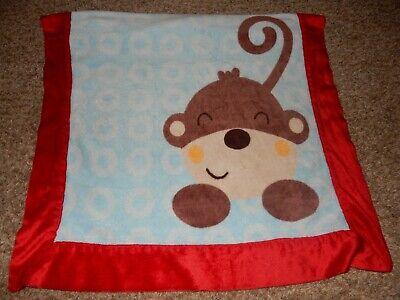 30x40 BELLE MAX MoNkEy Super Soft Silky Plush Velour Toddler Baby Crib Blanket - $25.99