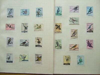 "💥FINE USED 1951 ANGOLA COMPLETE ""BIRDS""  SET - SG. 458/81💥"