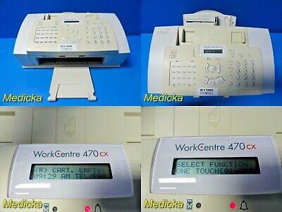 Xerox 470cx Workcentre All-in-one Color Printer Fax Copier 19092