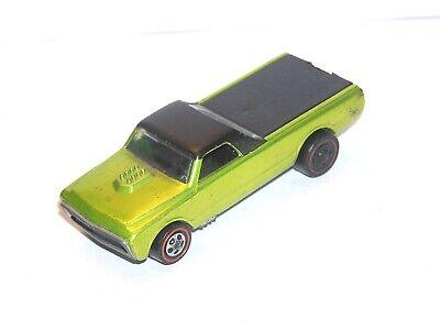 1968 Hot Wheels Redline Custom Fleetside US YR1 ANTIFREEZE PRETTY but READ!