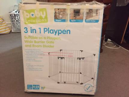 Baby Solutions (Kmart) 3-in-1 playpen in great condition