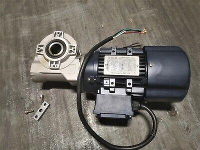 Gear Motor 34hp 3 Phase 230460v 3400 Rpm 601 Iec 71 Ffi A-270231-1