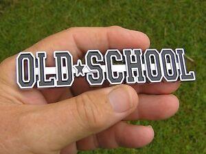 ~ OLD SCHOOL Car Emblem *NEW* Suit Chevrolet Camaro Impala Bel Air Biscayne etc