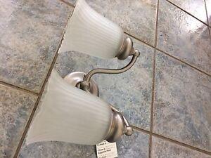 Pewter Bathroom Light