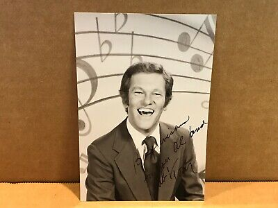 TOM KENNEDY Authentic Hand Signed Autograph 4x6 Photo - GAME SHOW HOST