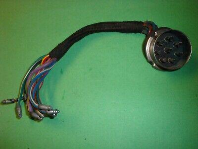 6C(6700) Jaguar Etype XKE Bonnet 8 Pin Connector Plug Receiver