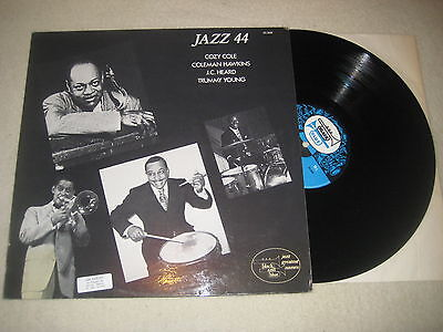 Cozy Cole, Coleman Hawkins  J.C.Heard t. Young - Jazz 44    Vinyl  LP