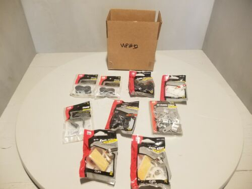 Variety Value Pack (9) Gardner Bender Cable Clamps & Clips