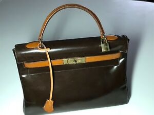 Vintage Hermes Kelly handbag - 32 centimeters