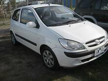 2008 AUTO Hyundai Getz Hatch A/C P/STR REG RWC Keysborough Greater Dandenong Preview