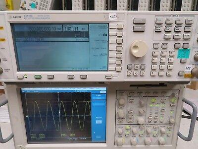Agilent E4438c 250khz - 3.0 Ghz Esg Vector Signal Generator W Options Ng25