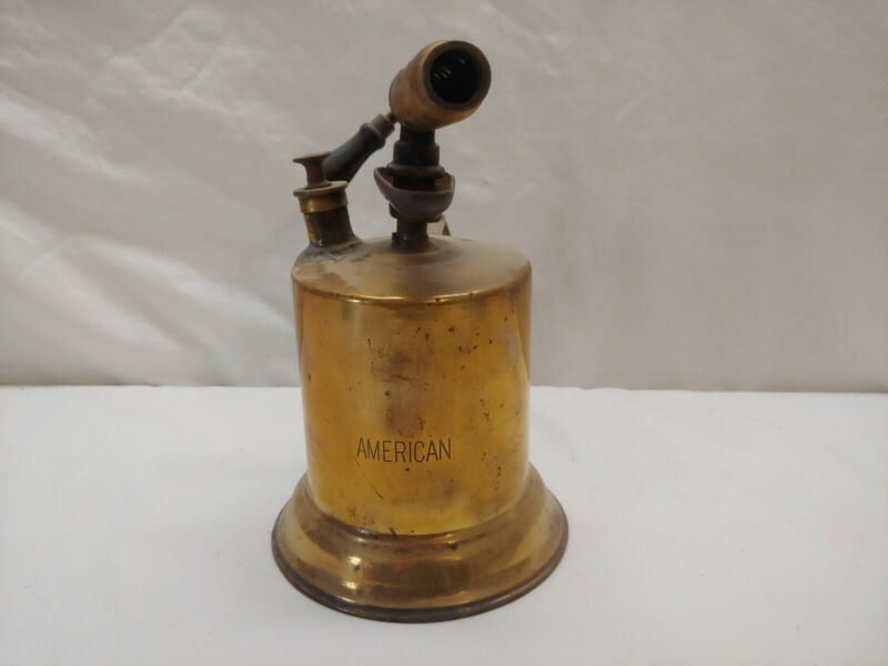 Antique Brass AMERICAN Blowtorch