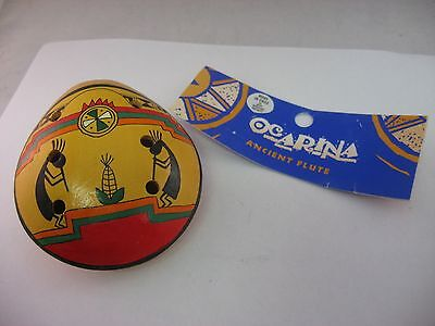 OCARINA Ancient Chilean Chile Flute Musical Instrument ~ Beautiful Music Scene ~