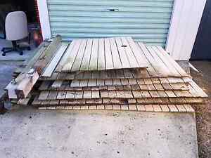 Used timber fence Golden Beach Caloundra Area Preview
