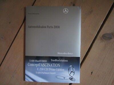 Mercedes-Benz AUTOMOBILSALON PARIS 2008 -Exclusive Edition für Sammler-